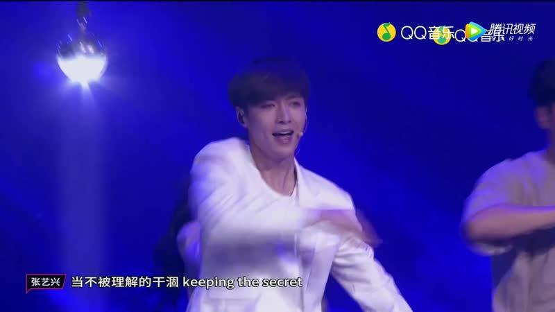 181021 ZHANG YIXING 张艺兴 一 《掌控舞台的王 Yo Bang》《梦不落雨林 NAMANANA》