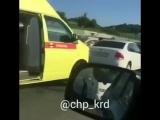 ДТП в Сочи: В больнице молодой водитель и девушка-подросток. 27.04.18