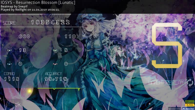 IOSYS - Resurrection Blossom [Lunatic] no CB