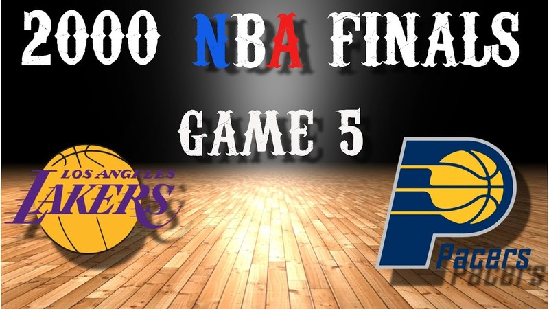 2000 NBA Finals Game 5 Los Angeles Lakers@Indiana Pacers