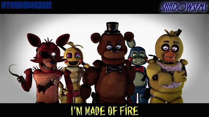(SFM FNAF) Feel Invincible [RUS COVER]