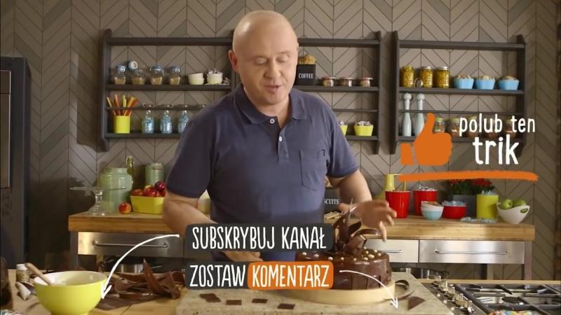 Jak zrobić czekoladowe ozdoby Trik Pawła Małeckiego