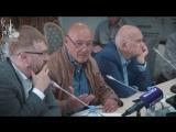 Владимир Познер на круглом столе, посвященном деятельности СМИ — иностранных агентов в РФ
