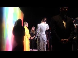 Белла и Джиджи прибывают на/покидают вечеринку журнала «Business of Fashion», Нью-Йорк (09.09.18)
