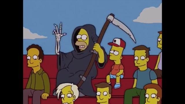 REAPER Play of the game PARODY - Funny Overwatch Meme - The Simpsons