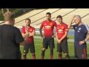 БРОзвучка Манчестер Юнайтед против 100 детей ФК Вечернее Шоу Шоу Джэймса Комдена BROSPORT
