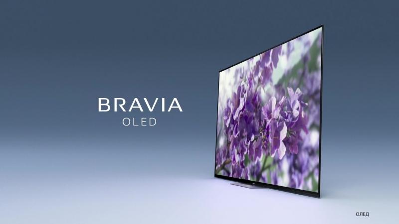 Sony BRAVIA серии AF8 — Пробуждение новых ощущений