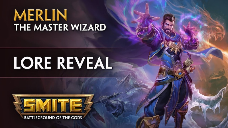 SMITE Lore Reveal Merlin the Master Wizard