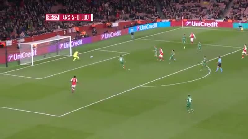 OTD in 2016 Arsenal beat Ludogorets 6-0 as Mesut Özil scored his first professional hat-trick.