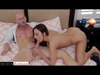 Anissa Kate & Johnny Sins [ Brunettes / Pussy, Between boobs, Linen, Riding dick, Cumshot on chest]