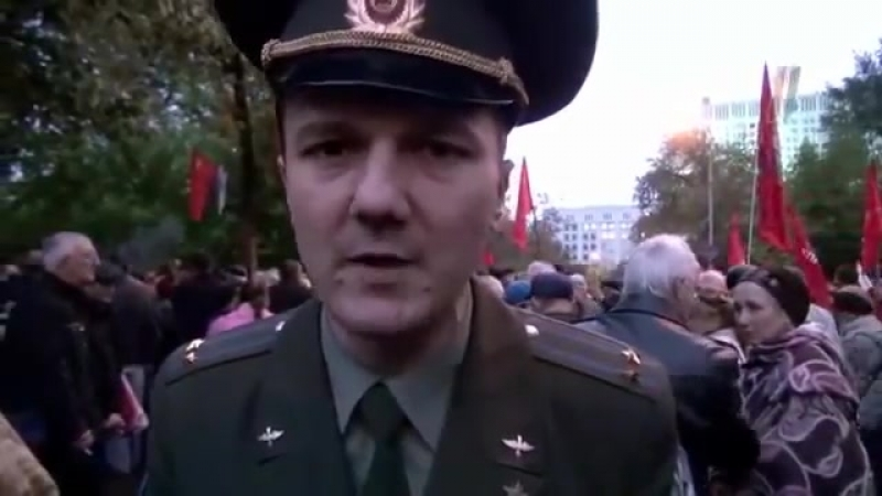 Кирилл Барабаш о присяге и гнидах из 93 года