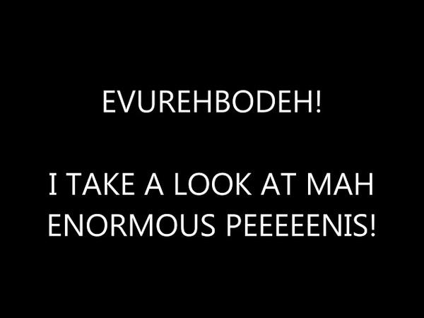 Look at my Enormous Penis Lyric Video 2017