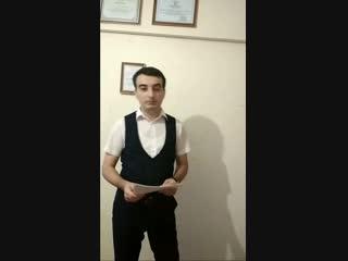Выполненное задание по видеоуроку 2 - Гусейнов Ильяс, Азербайджан