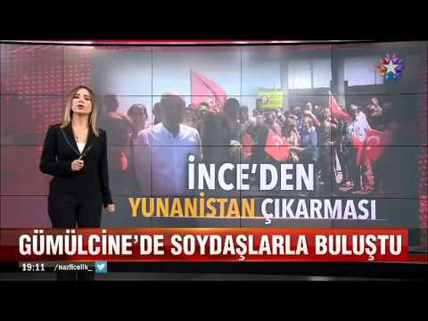 Muharrem İnce'den Yunanistan çıkarması Gümülcine'de soydaşlarla buluştu