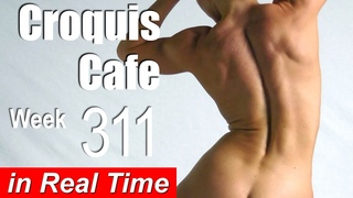 Croquis Cafe: Figure Drawing Resource No. 311 (new model, Artistic Physique)