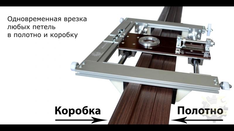 Шаблон для врезки петель и замков за 1 минуту УФК-ПРОФИ