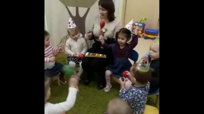 Поздравляем с трёхлетием нашу малышку Зару!  Расти счастливой, здоровой, энергичной и непосредственной, наша вишенка🍒 И талантли