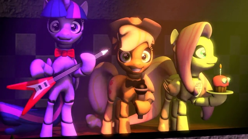 Five nights at Ajs - Bonnie song [SFM MLP]