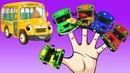Learn Colors With Bus Finger Family | Học Màu Sắc Cùng Gia Đình Ngón Tay Xe Buýt