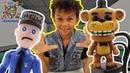 Мир мальчишек • ДАНИ и аниматроники ФНаФ гостим в пиццерии ФРЕДДИ!