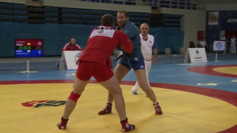 David Loriashvili V Denis Tachii THE EUROPEAN SAMBO CHAMPIONSHIP FINAL
