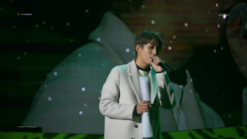 Fancam » 190105 | B1A4 ♥ BANA 5th Fanmeeting | The Road We Walk Together | Gongchan Solo