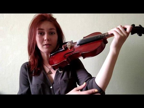 Постановка левой руки на скрипке. Как научиться играть на скрипке