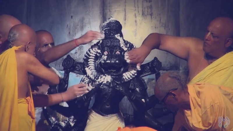 Nrusimha Maha mantra - Ugram Veeram Maha Vishnum - Madhavas Rock Band