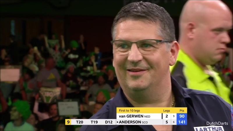 Michael van Gerwen v Gary Anderson Champions League of Darts 2018