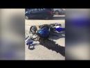 В Уфе разбираются в обстоятельствах ДТП, в котором серьезно пострадал мотоциклист