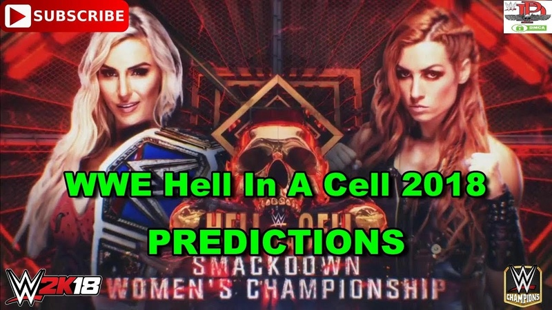 WWE Hell In A Cell 2018 SD Live Women's Championship Charlotte Flair vs. Becky Lynch WWE 2K18