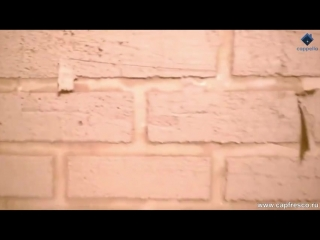 Дизайн стены под кирпичную кладку