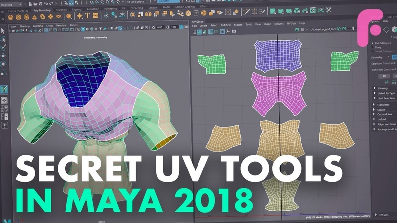UV Tools You Didnt Know in Maya 2018