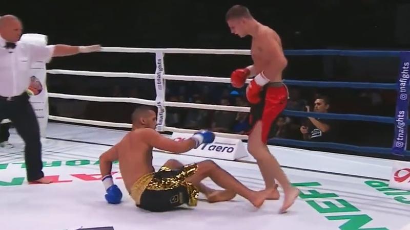 18 Летний Русский Боец Вернулся и Нокаутировал Чемпиона Мира