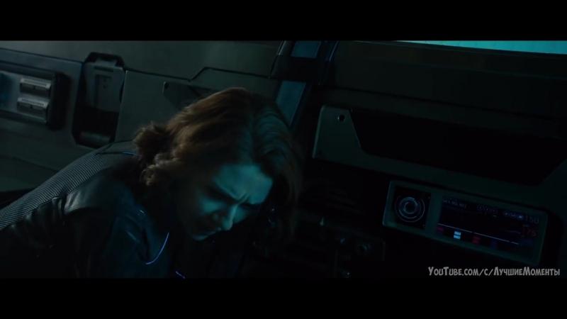 Чёрная вдова и Соколиный глаз похищают новое тело Альтрона. Близнецы помогают Капитану Америка