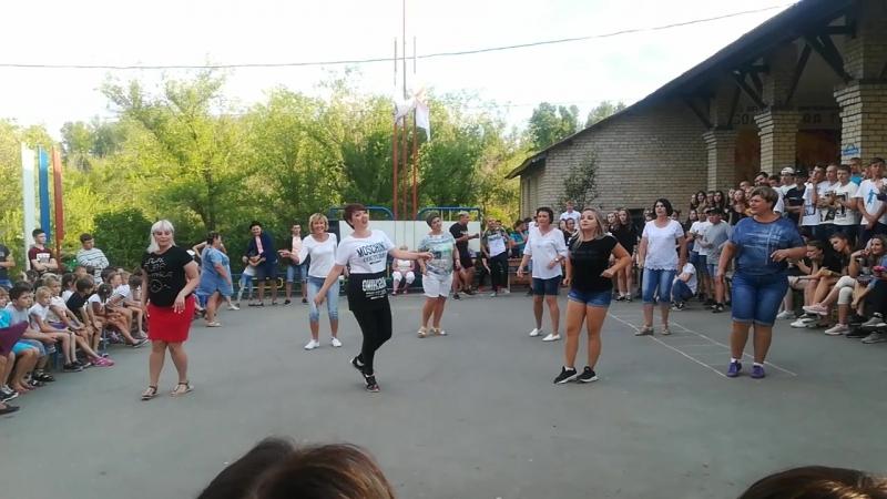 Большие танцы воспитателей 👾💫