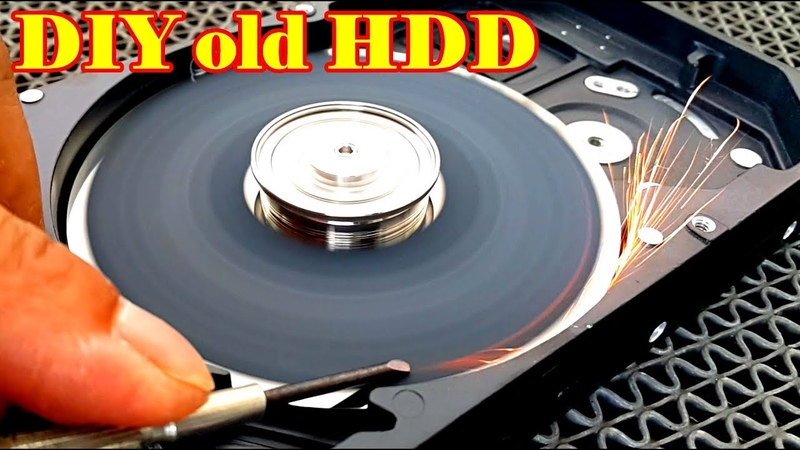 Ideas How To Make Knife Sharpening Machine, Grinder, Scrub from old Hard Disk Drive do it yourself
