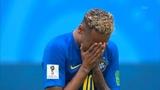 neymar cries after brazill win vs costa rica (brazill vs costa rica) wc 2018