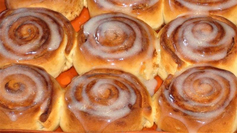 Ароматные булочки с корицей .Как приготовить дома Cinnabon