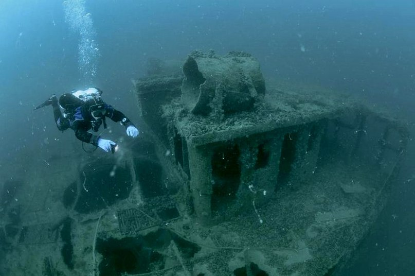 Wreck Крым. Дайвинг в Евпатории 1