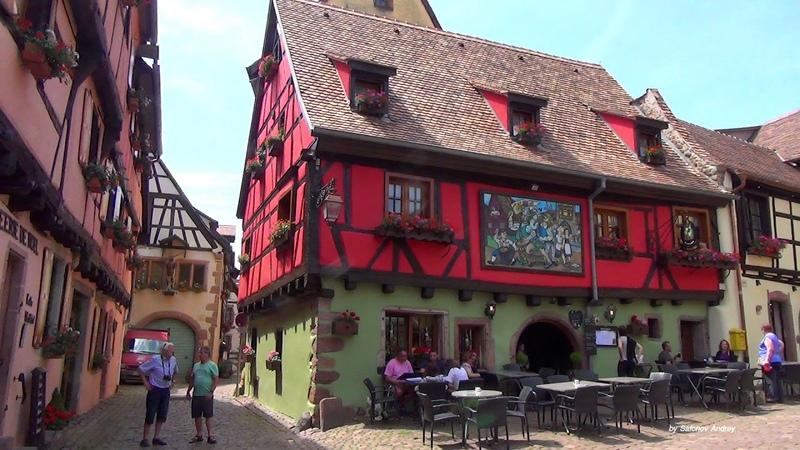 Прогулка по Риквиру (Эльзас, Франция)