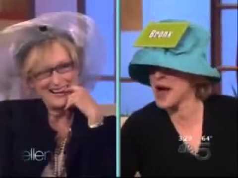 Meryl Streep plays Accents on Ellen