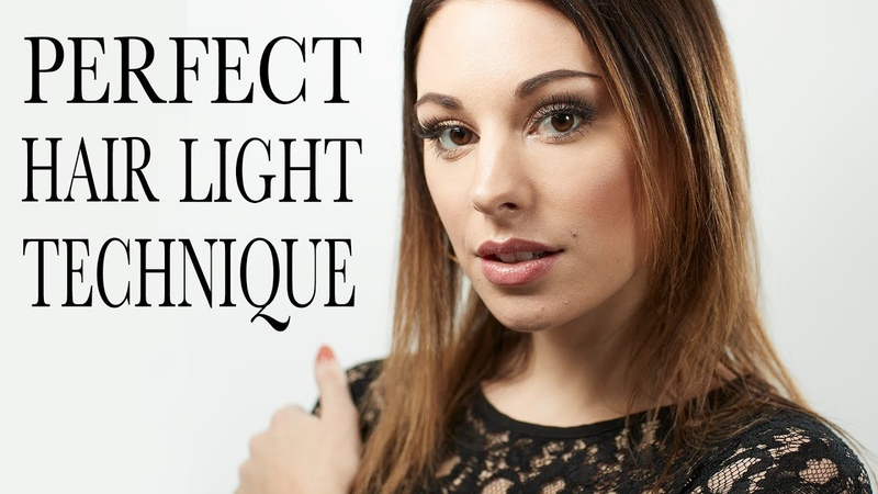 How to best place you light for hair separation