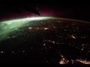 Полёт над ночной Землёй