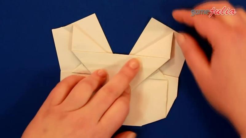 Оригами из бумаги БАБОЧКА