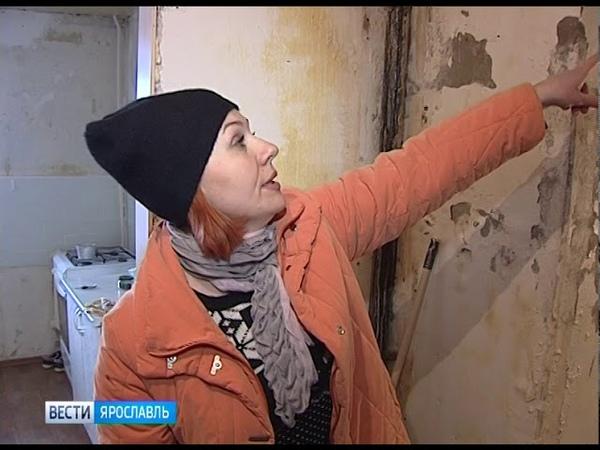 Оттепель идёт - крыши текут ярославские дома не выдерживают испытание непогодой