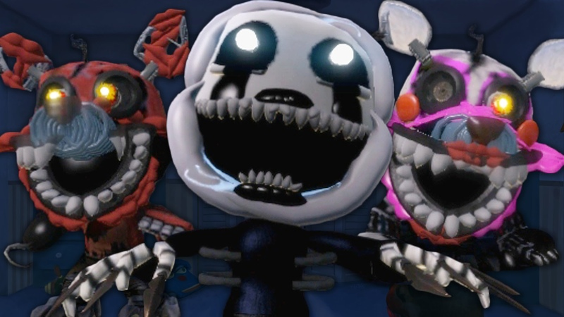 Epic LBP3 Costumes - Episode 13 - Five Nights at Freddy's 4 - FNAF 4 Puppet Mangle and More