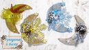 Новогодний декор Магнит на холодильник Месяц Мастер Класс