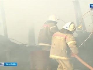 ВестиТамбов. Пожар в Тулиновке: добровольцы предотвратили большую беду - Вести 24