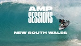 Creed McTaggart, Ellis Ericson, and Wade Goodall in New South Wales SURFER Amp Sessions